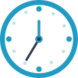 Horloge représentant la dyschronie